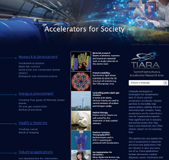 Accelerators for Society website available